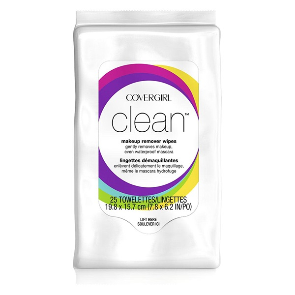 Clean Make-Up Remover Wipes