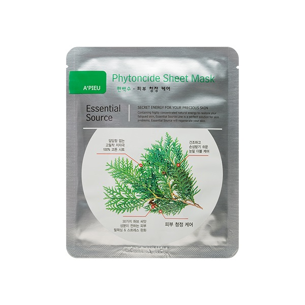 Essential Source Phytoncide Dual Sheet Mask