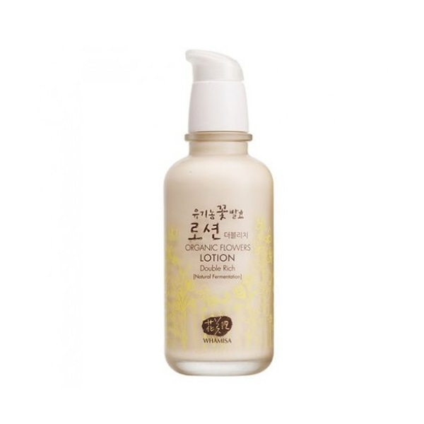 Organic Flowers Lotion Double Rich