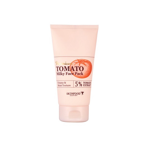 Premium Tomato Whitening Milky Face Pack (Brightening Effect)