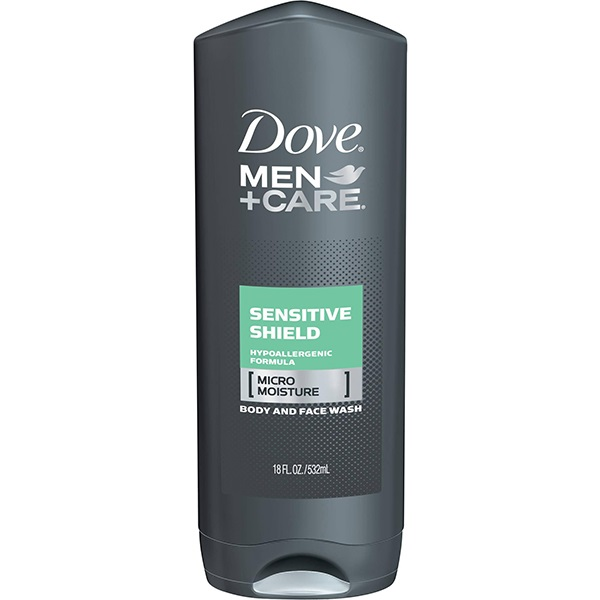 Men + Care Sensitive Shield Body And Face Wash
