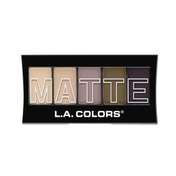 L.A. Colors Matte Eyeshadow - Brown Tweed