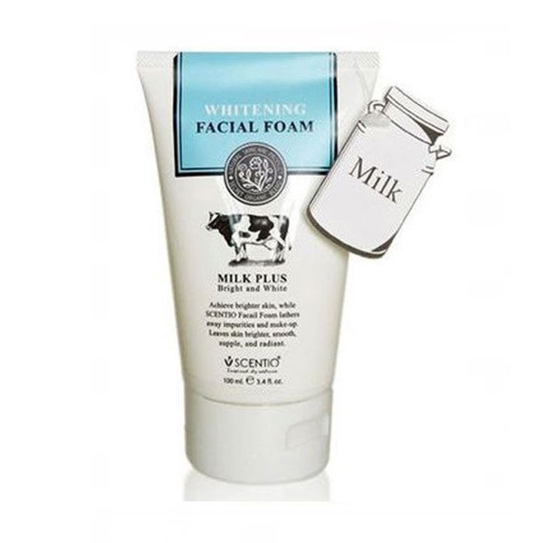 Milk Plus Bright & White Facial Foam