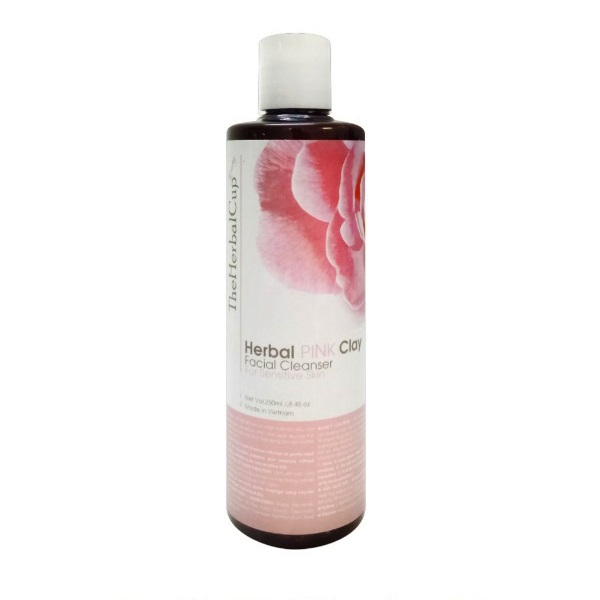Herbal Pink Clay Facial Cleanser