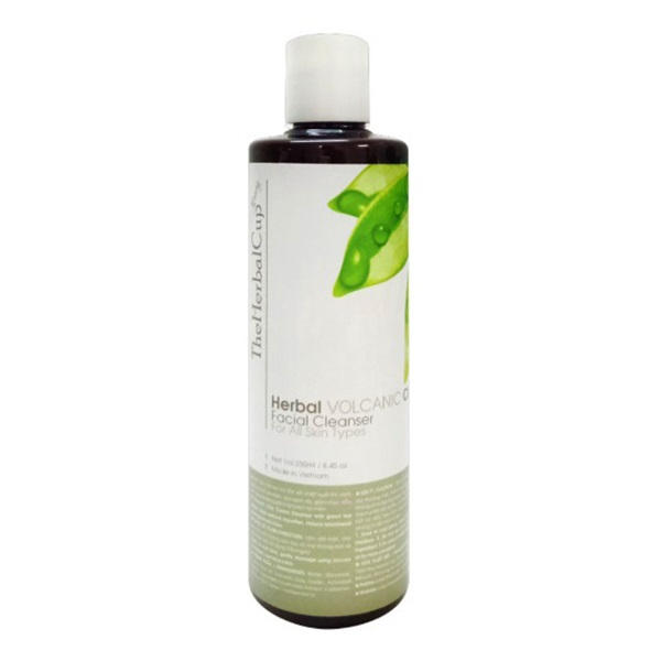 Herbal Volcanic Clay Facial Cleanser