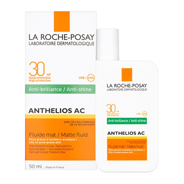 Anthelios AC Anti-shine SPF 30 Matte Fluid