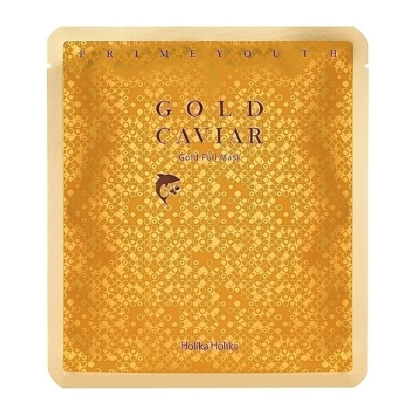 Prime Youth Gold Caviar Gold Foil Mask
