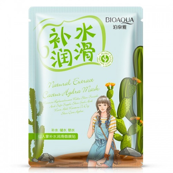 Natural Extract Cactus Hydra Mask