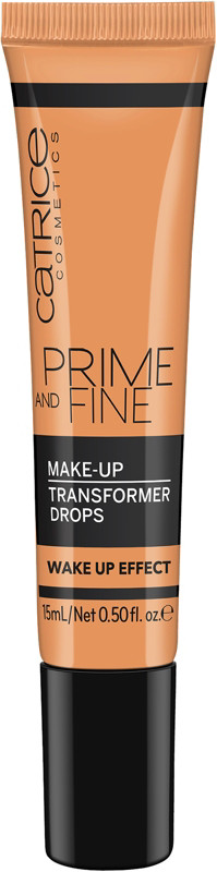 Prime And Fine Make Up Transformer Drops Wake-up Effect