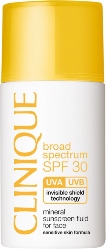 Broad Spectrum SPF 30 Mineral Sunscreen Fluid For Face
