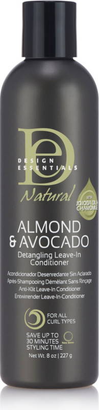 Natural Almond and Avocado Detangling Leave-In Conditioner