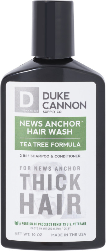 Online Only News Anchor 2 in 1 Hair Wash Tea Tree Formula