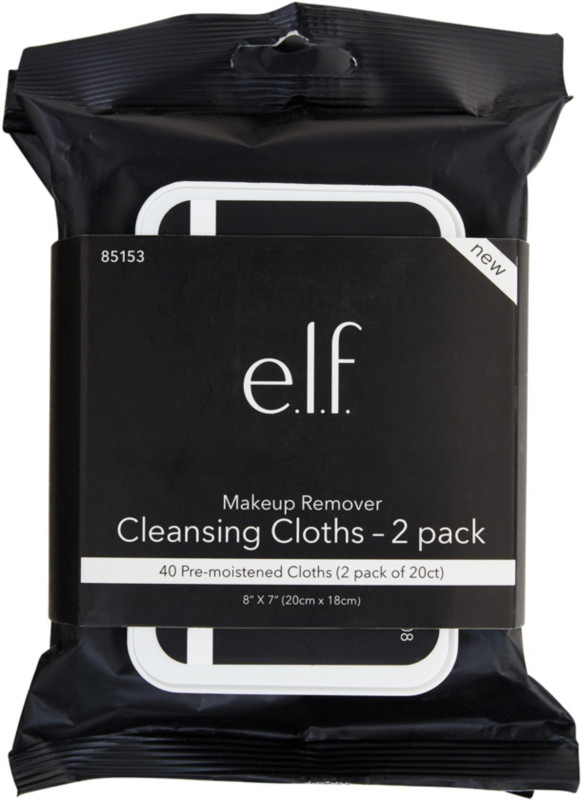 Online Only Makeup Remover Cleansing Cloths 2 Pack