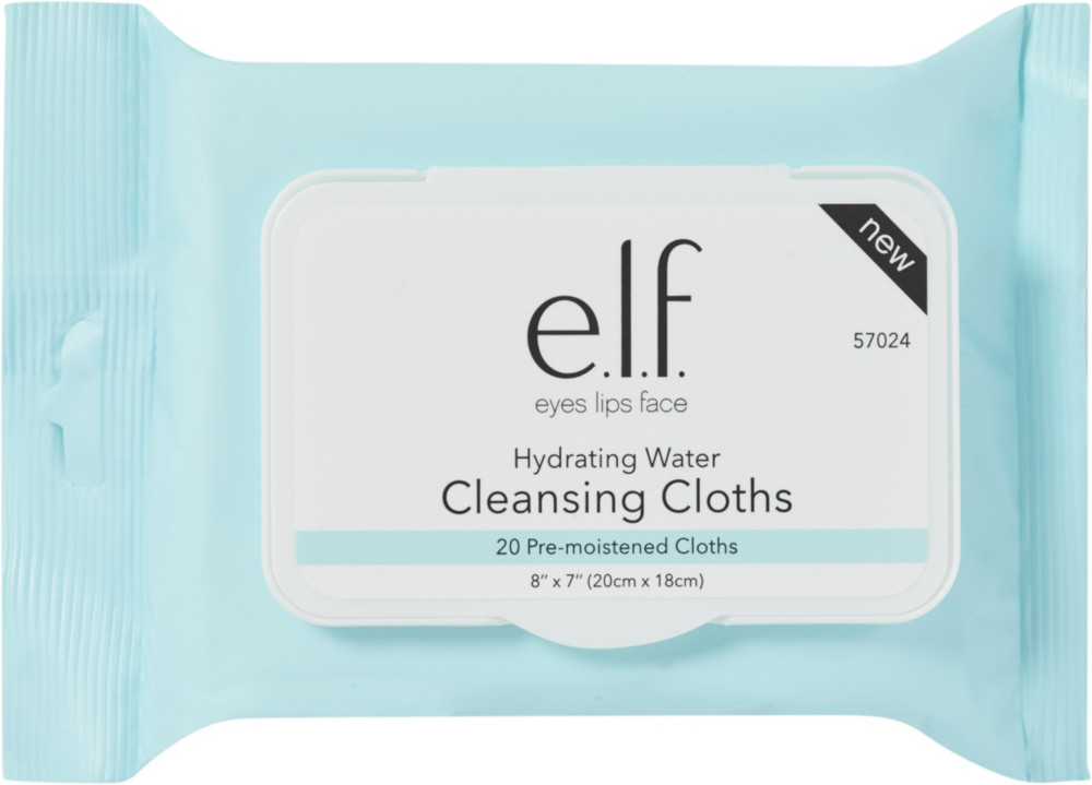 Online Only Hydrating Water Cleansing Cloths