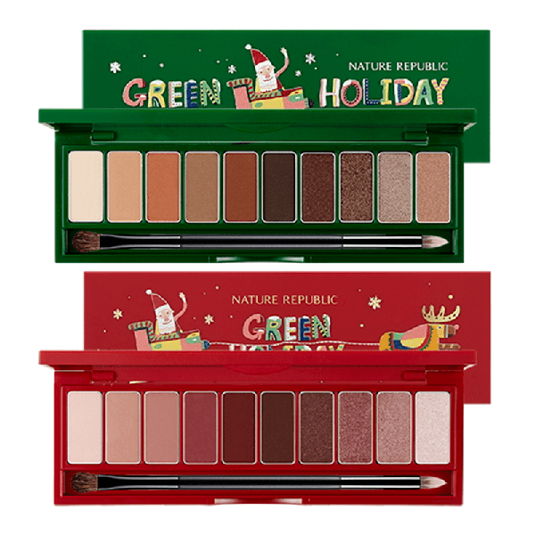 Green Holiday Pro Touch Shadow Palette