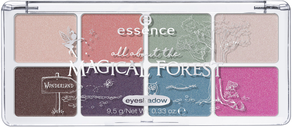 All About The Magical Forest Eyeshadow Palette