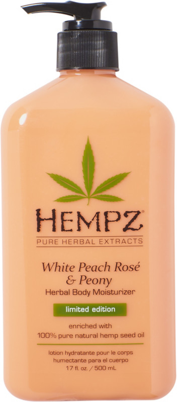 White Peach Rosé & Peony Herbal Body Moisturizer