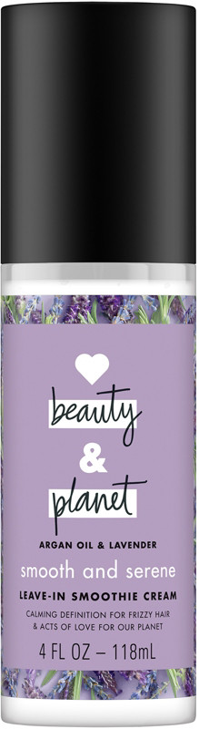 Smooth and Serene Argan Oil & Lavender Leave In Conditioner Cream