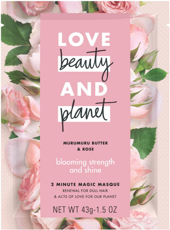 Murumuru Butter and Rose Blooming Strength and Shine 2 Minute Magic Masque