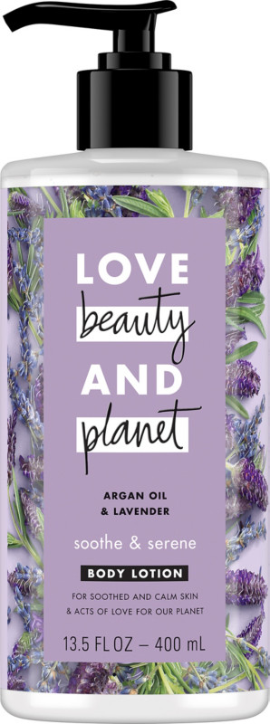 Argan Oil and Lavender Soothe & Serene Body Lotion