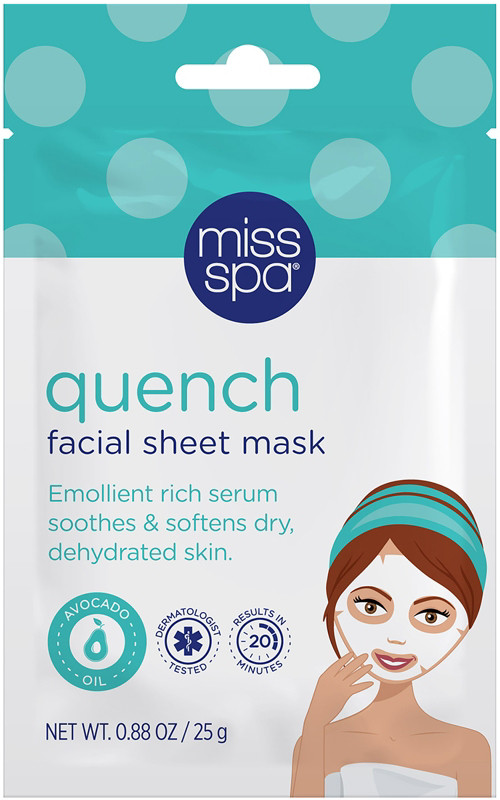 Online Only Quench Facial Sheet Mask