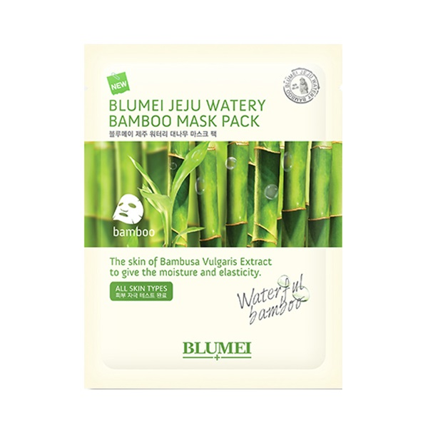 Jeju Watery Bamboo Mask Pack