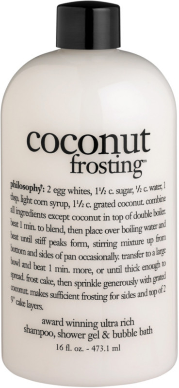 Coconut Frosting Shampoo, Shower Gel & Bubble Bath