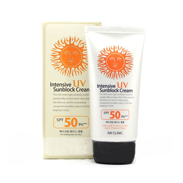 Intensive UV Sunblock Cream SPF50 PA+++