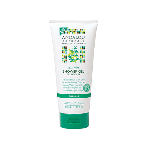 ANDALOU Naturals Aloe Mint Cooling Shower Gel 251ml